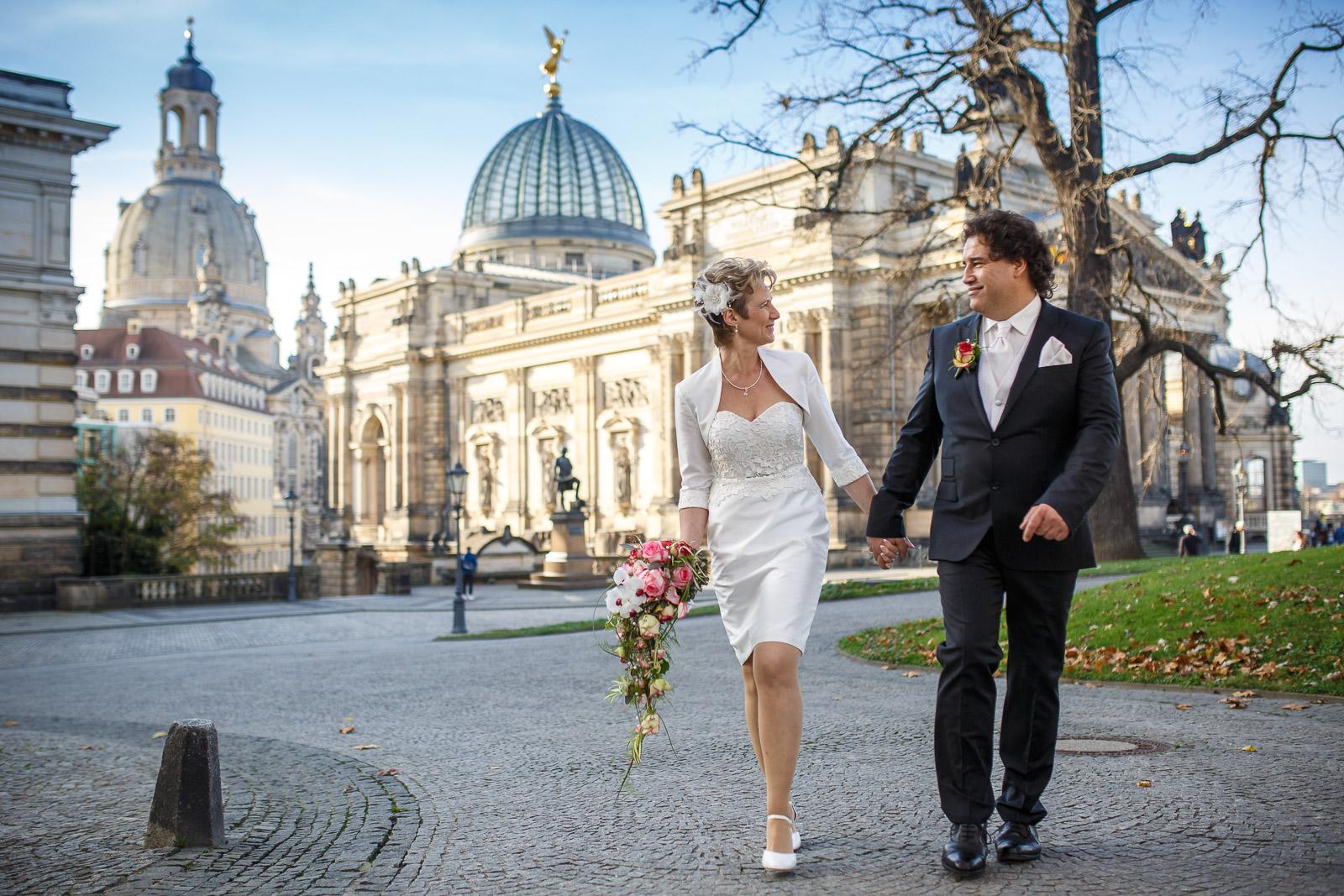 Hochzeitsfotograf Dresden Altstadt Frauenkirche - newpic.eu by Toni Kretschmer